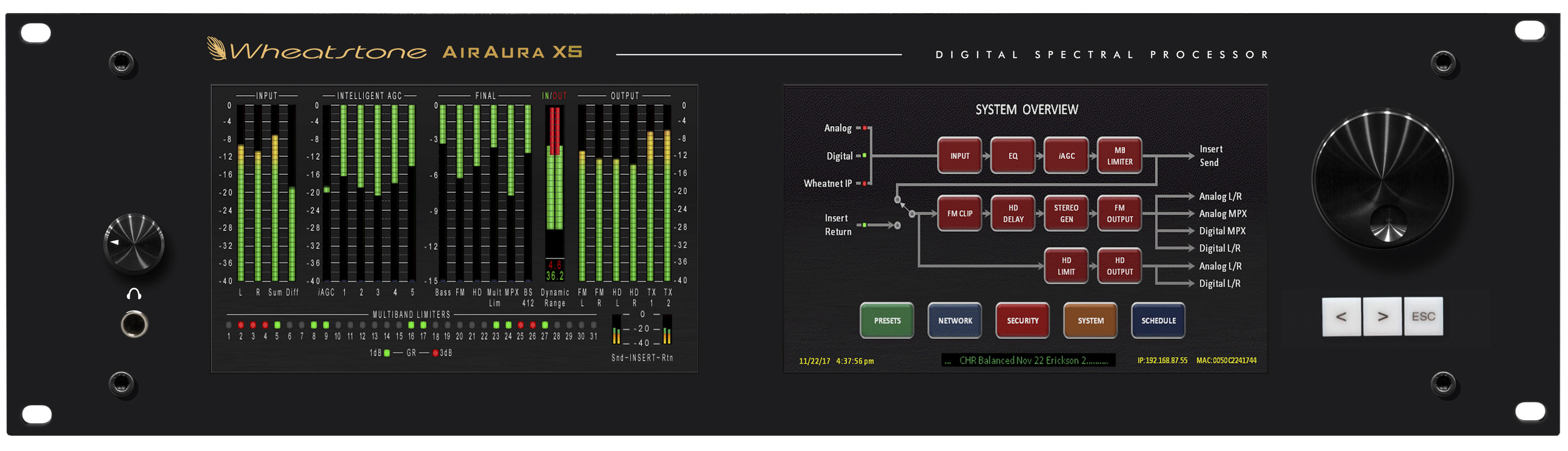 WHEATSTONE SHOWCASES X5 FLAGSHIP FM/HD AUDIO PROCESSOR AT IBC