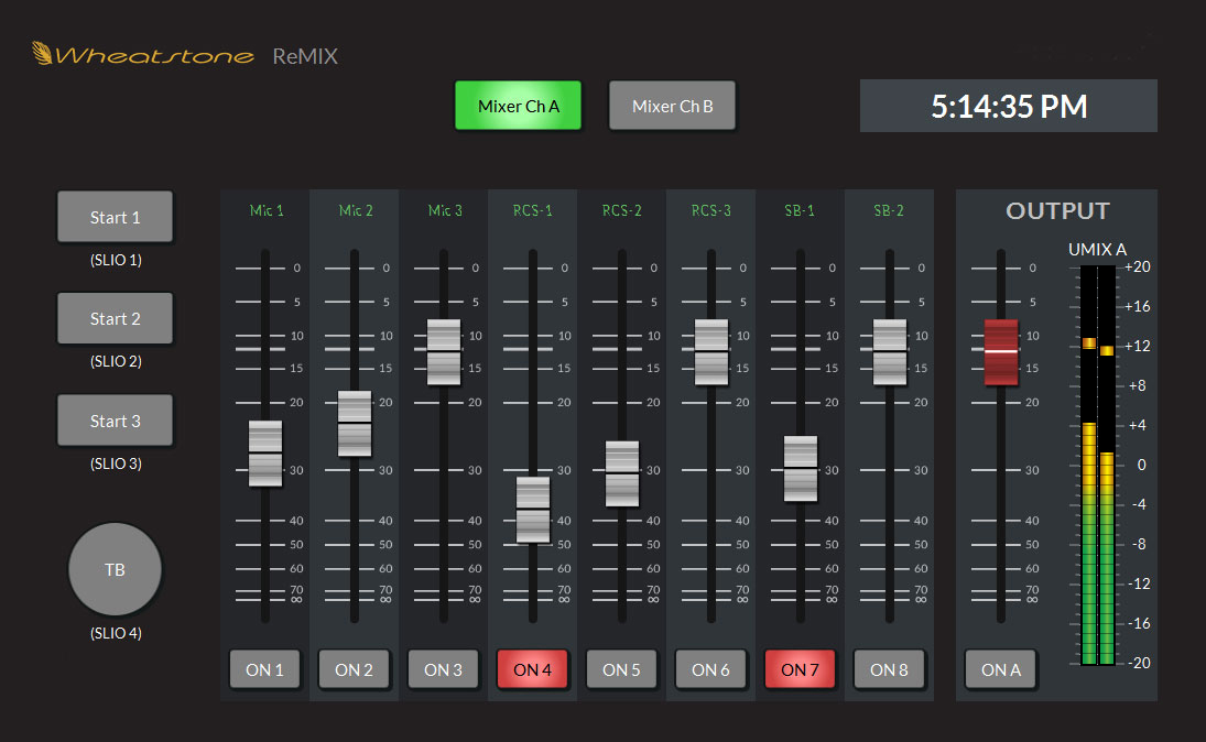 WHEATSTONE ANNOUNCES REMOTE MIXING APP